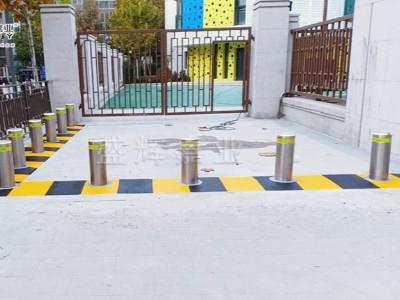 幼儿园反恐防撞升降柱-盛辉嘉业升降柱厂家提供