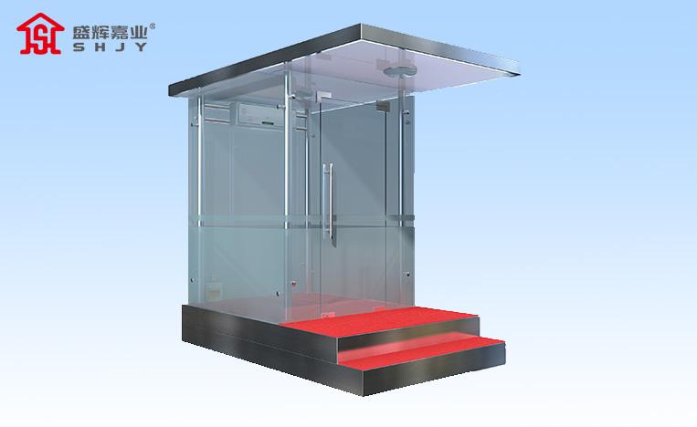 不锈钢站台玻璃岗亭厂家直销