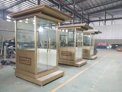在北京某某亿能科技公司在【北京盛辉嘉业】采购了3台镀铜站台岗亭