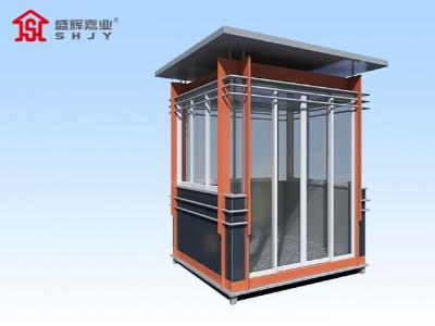 钢结构岗亭厂家内部空调是如何进行安装的?