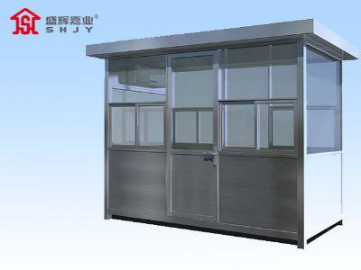 为什么天津定制岗亭的框架大多使用镀锌板材质