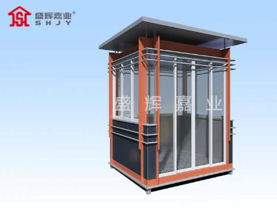 廊坊碳钢岗亭观察身边不同岗亭,碳钢岗亭产品需求多样化