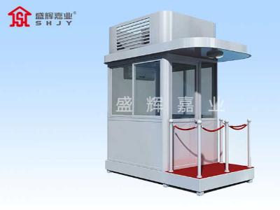 成品岗亭厂家确保岗亭产品的牢固性以及实用性