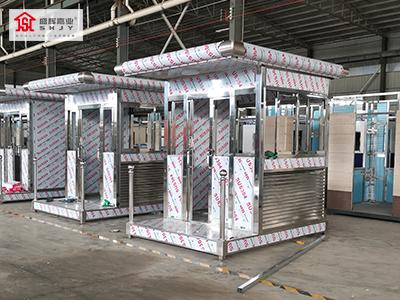 304不锈钢岗亭的制作流程和工艺