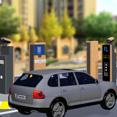 停车场无人值守收费系统