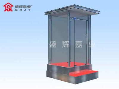 成品岗亭厂家对岗亭产品质量多重保证,生产材料很关键