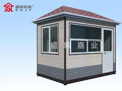 活动板房岗亭通过不间断移动耐热性有效得到保证