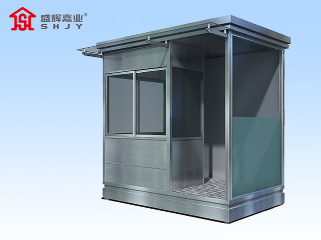 不锈钢治安岗亭中间有层隐形保护膜是什么作用