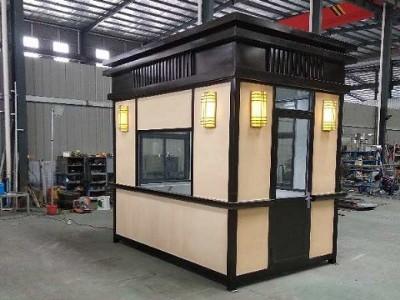 使用不锈钢岗亭后期需要怎么维护