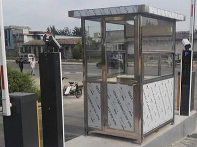 常规不锈钢岗亭分两种材质