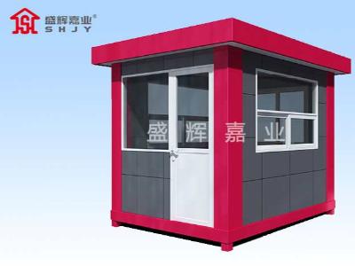 小区门卫岗亭建筑材料决定了使用安全及使用寿命