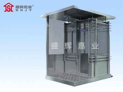 门卫保安岗亭定制厂家生产所需要的材质有哪些?