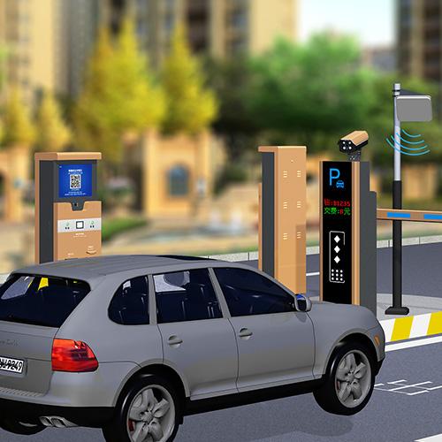 车牌识别一体机控制系统