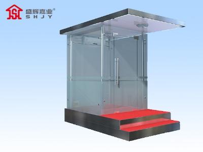 设立在小区门口的天津定制岗亭,拥有什么优势
