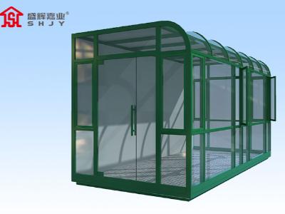 天津定制岗亭在应用中如何对不同材质玻璃进行选择呢?