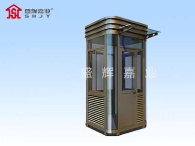 钢结构岗亭厂家的焊接技术及订购岗亭的注意事项