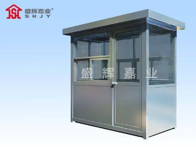 钢结构岗亭产品完善促进岗亭市场发展,岗亭行业发展现状