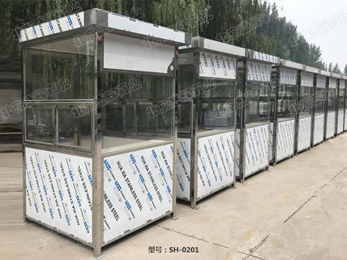 北京不锈钢岗亭厂家定做