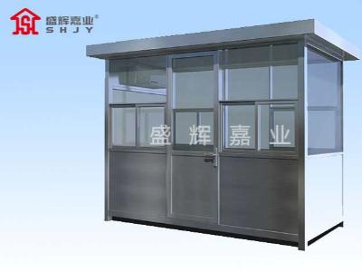岗亭生产厂家:钢结构岗亭耐腐蚀性能如何保证?