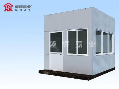 小区门卫岗亭厂家:假的不锈钢岗亭都会有哪些特征?