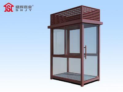 秦皇岛小区门卫岗亭中使用玻璃的好吗?