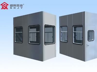 石家庄岗亭生产厂家:选择使用玻璃岗亭都有哪些好处?