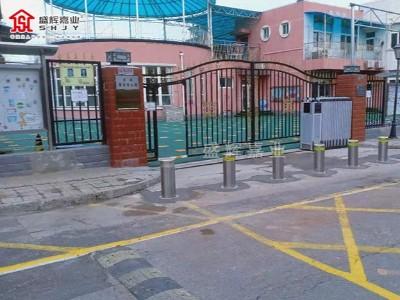 北京馨星幼儿园防撞升降柱【盛辉嘉业】阻车路桩厂家提供
