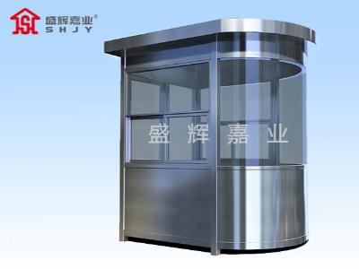 天津定制岗亭防止普通水性能不好造成的缺陷,岗亭可放心应用