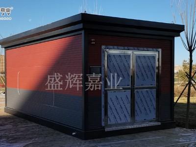 北京社会管理职业学校垃圾分类房投入使用-盛辉嘉业垃圾房厂家制作