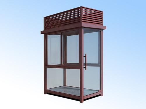 北京定做钢结构玻璃岗亭厂家