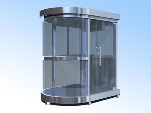 定制不锈钢玻璃岗亭厂家