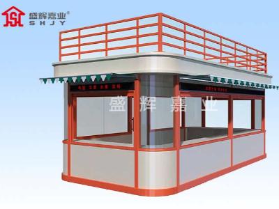 活动板房岗亭具有多重应用保证,岗亭结构体系保证完整性