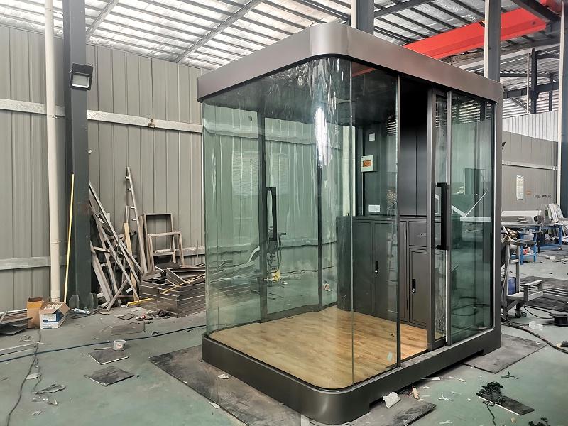 防弹玻璃岗亭