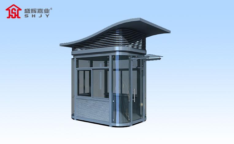 钢结构门卫室保安岗亭
