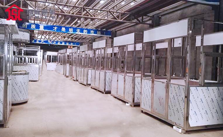 北京大兴不锈钢常规岗亭厂家