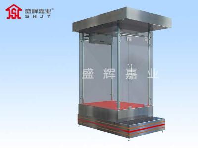 天津定制岗亭通过不同材质来适应不同场所的应用