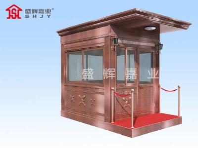 岗亭根据实际用途选择,钢结构岗亭多种搭配方式