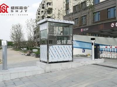 河北张家口批量采购常规不锈钢岗亭