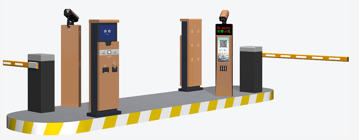 脱机收费型高清车牌识别系统