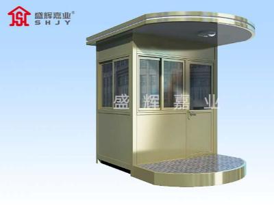 钢结构岗亭的压弯和造型是如何做的?