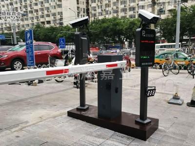车牌识别系统——小区停车收费系统盛辉嘉业安装完成