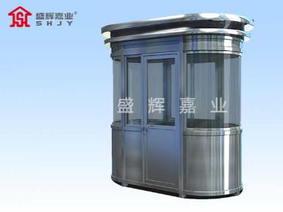 钢结构岗亭生产厂家抛开传统生产方式,进入快发展时代