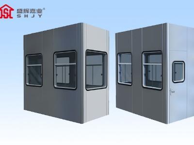 廊坊碳钢岗亭制作材料多样化发展,碳钢岗亭与城市需求密不可分