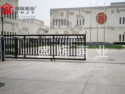 大门口车牌识别系统【北京大兴同仁堂】