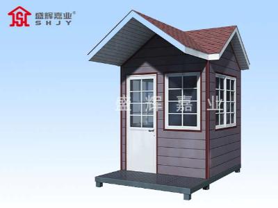 门卫室岗亭存放位置合适有助于更好保障片区的安全