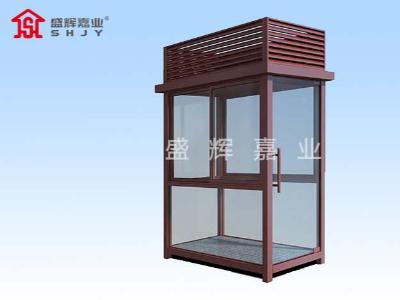 石家庄岗亭生产厂家生产条件一定程度影响岗亭质量
