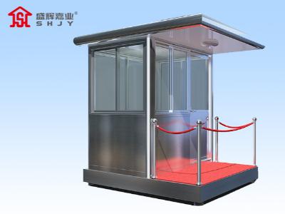 天津定制岗亭增加新型交通定制岗亭,不断强化道路治安管理