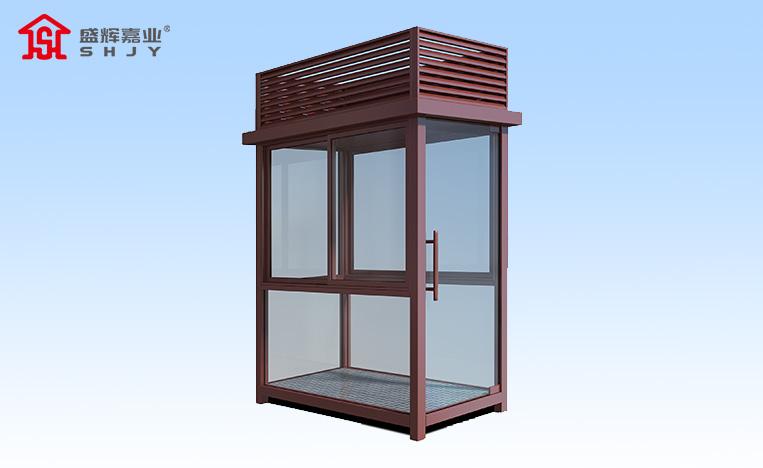 盛辉嘉业保安岗亭厂家生产的岗亭在使用过程中注意事项